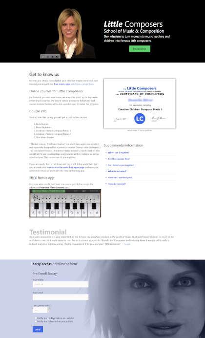 ernst renner web design samle page