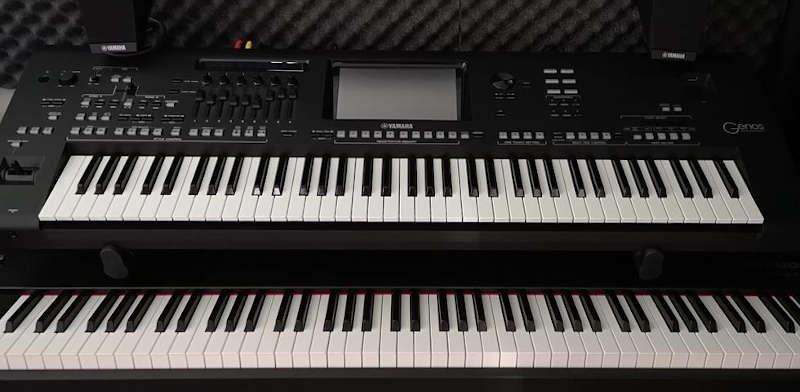 linux audio jack2 keyboard piano tutorial