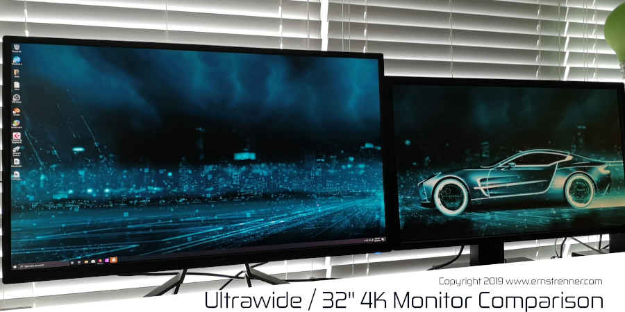 ultrawide 4k monitor screen dimensions