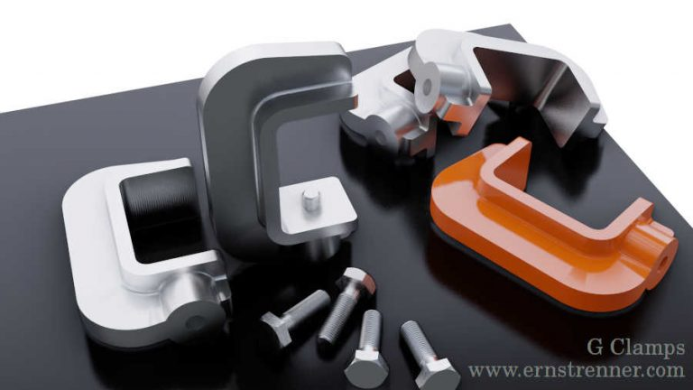 3d pringed g clamps