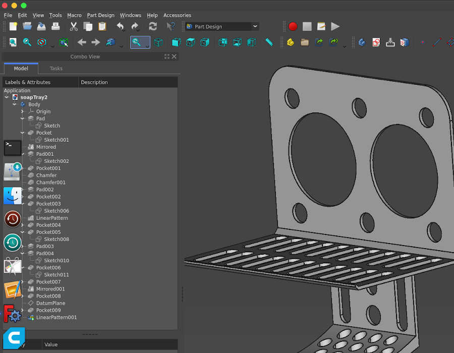 FreeCAD Linux appimage css theme not working
