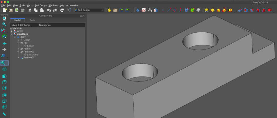 freecad precision drafting for 3d printing