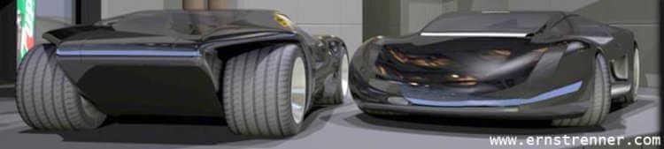 ernst renner concept car blender model