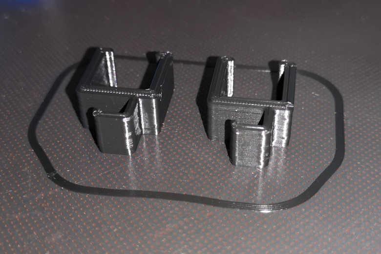 artillery sidewinder SW X1 cura 4.7 profile cable clips