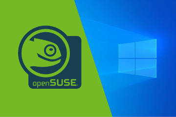 How to dual-boot OpenSUSE and Windows 10 Pro