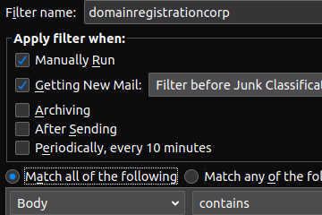 domainregistrationcorp spam filter