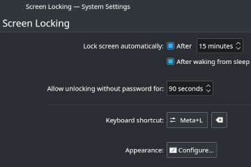 kde change screen locking timeout